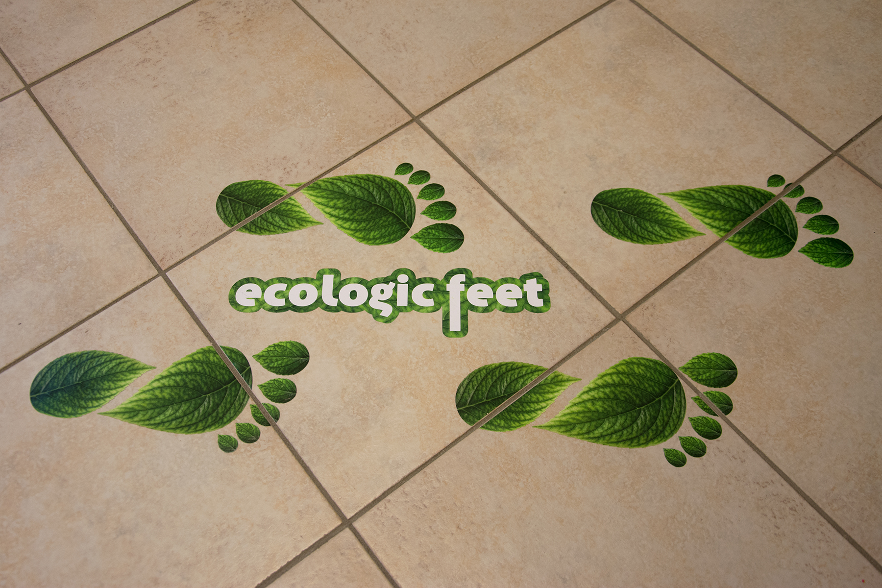 Vloerstickers | Ecologic Feet