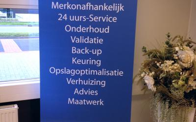 Roll-up banner | VDW CoolSystems